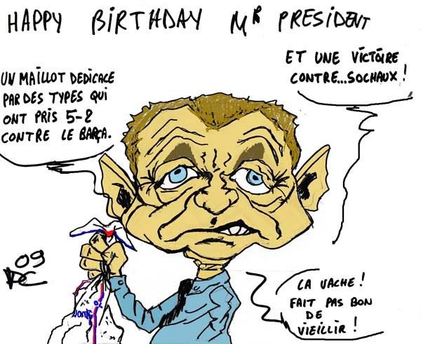 Aulas a 60 ans football maxifoot - Dessin 60 ans anniversaire ...